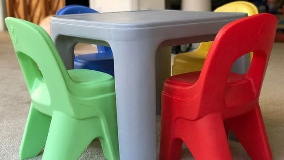 5 Benefits of Having a Kid's Table and Chair Set
