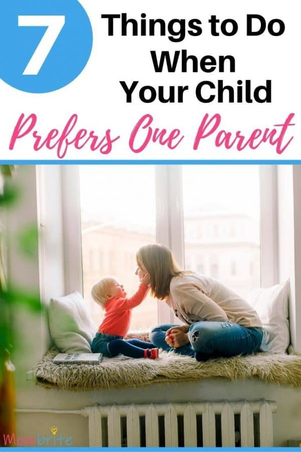 Chid Prefers One Parent