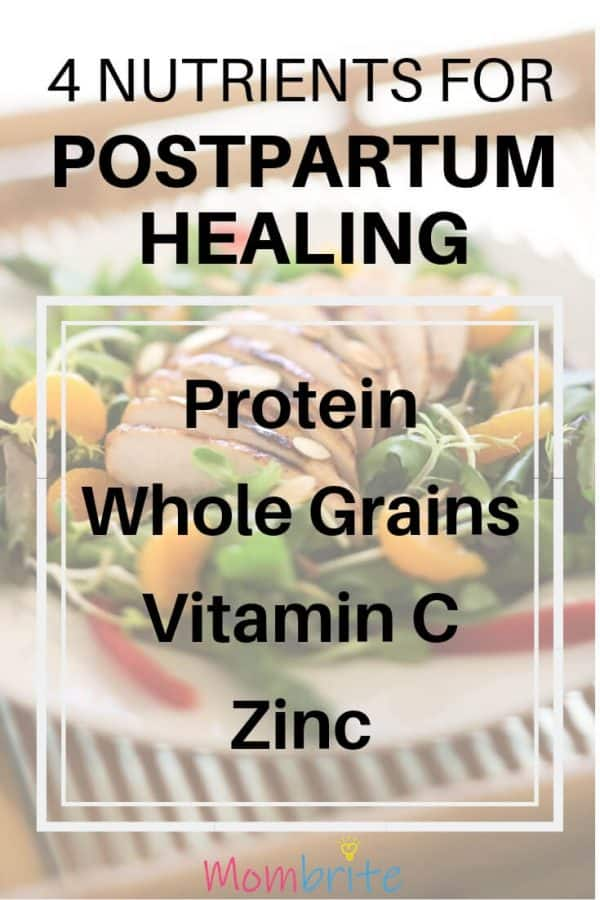 4 Nutrients for Postpartum Healing