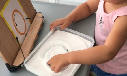Salt Writing Tray: Fun Sensory Activity for Preschoolers