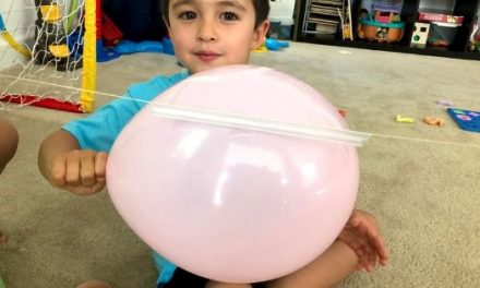 Balloon Rocket Experiment – STEM Activity for Preschoolers