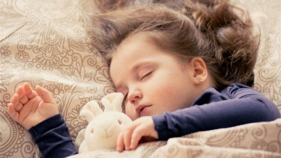 toddler sleep in bed