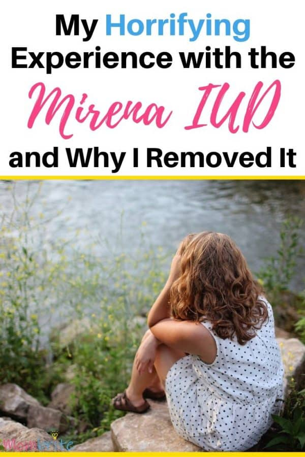 I thought getting the Mirena IUD meant that I didn't have to worry about birth control for the next 5 years. Little did I know that the side effects of the Mirena IUD will send my life into a tailspin for the next 12 months. #mombrite #mirenaiud #birthcontrol