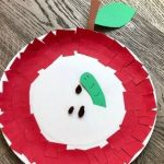 Easy and Fun Paper Plate Apple Craft