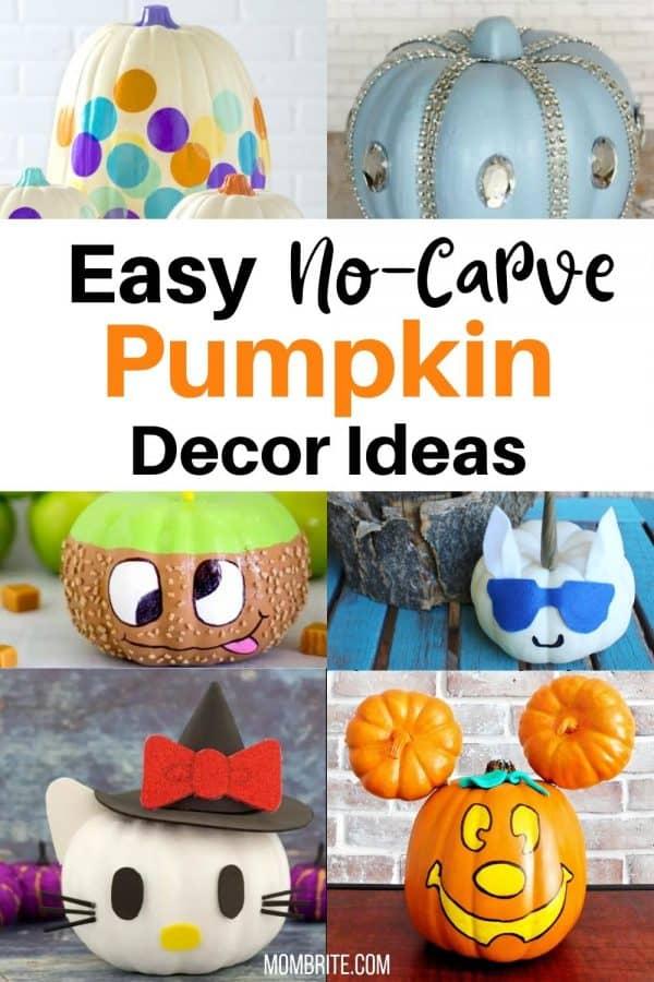 no-carve-pumpkin-decorating-ideas