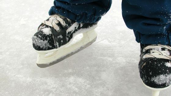 ice skating kid