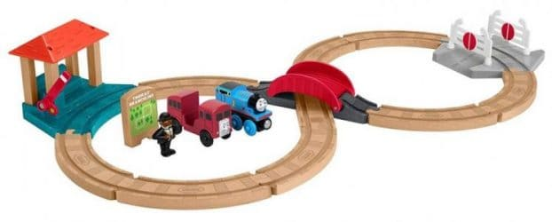 thomas the train wooden track set