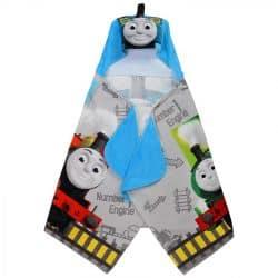 Franco Kids Bath and Beach Soft Cotton Terry Hooded Towel Wrap