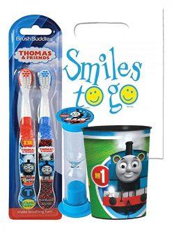 Thomas & Friends 4pc Bright Smile Oral Hygiene Bundle