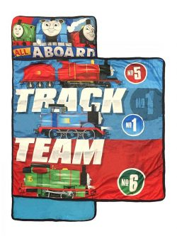 Thomas The Tank Engine Nap Mat with Built in Pillow and Blanket