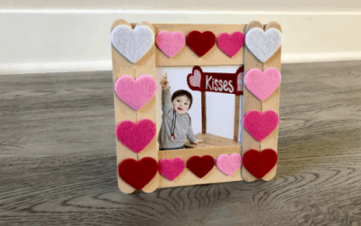 Simple and Easy Popsicle Stick Picture Frame