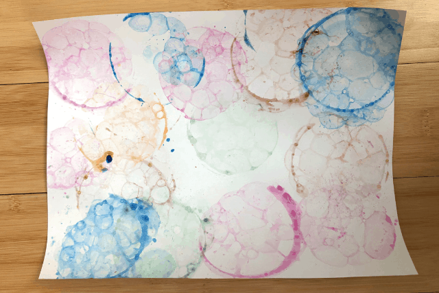 Bubble Painting 7
