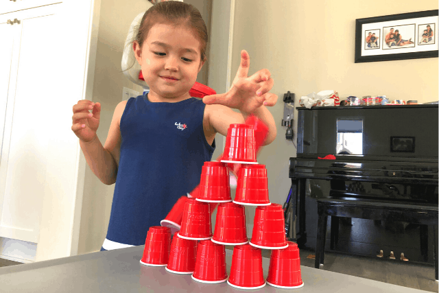Build Cup Tower