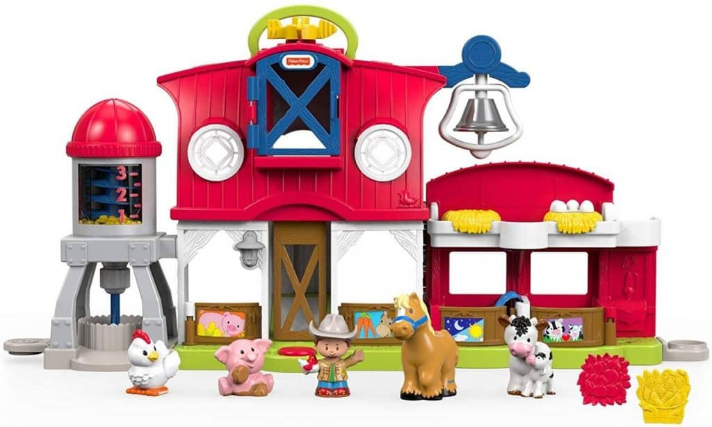Fisher Price Little People Caring For Animals Farm Set