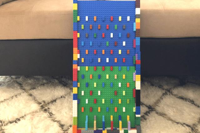 LEGO-Plinko-Board