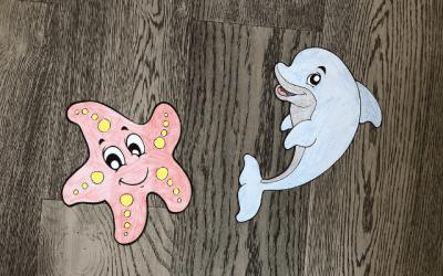 Paper Sea Creature Race Activity
