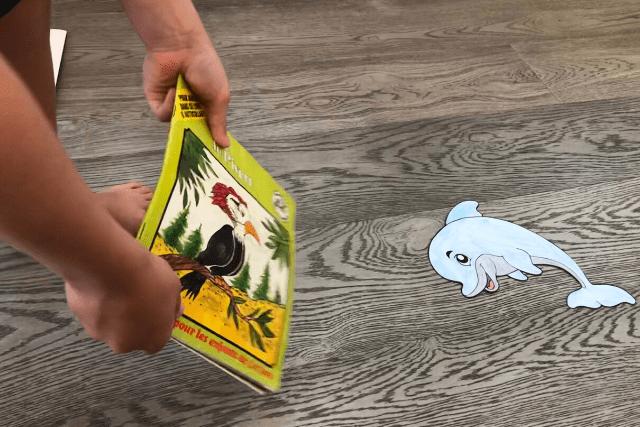 Paper-Sea-Creature-Racing-Technique