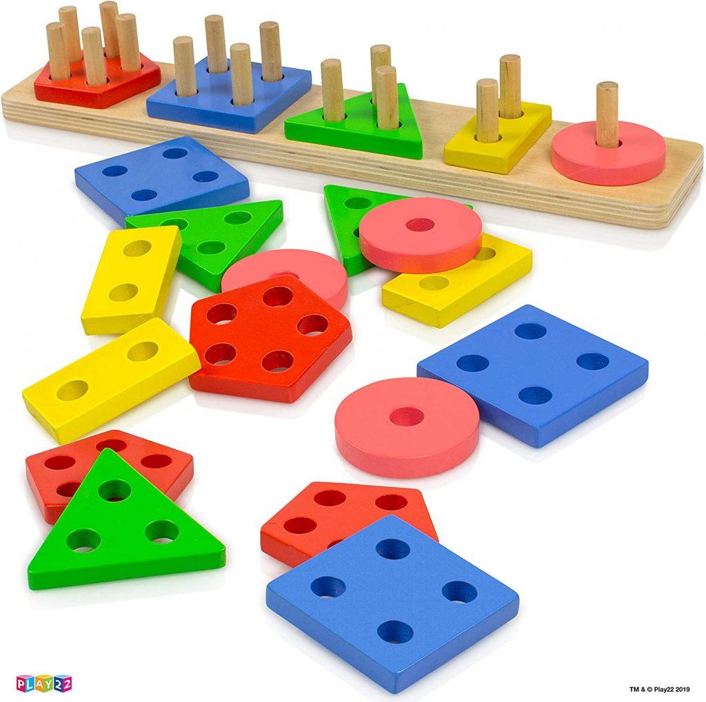 Shape-Sorter-Color-Wooden-Board