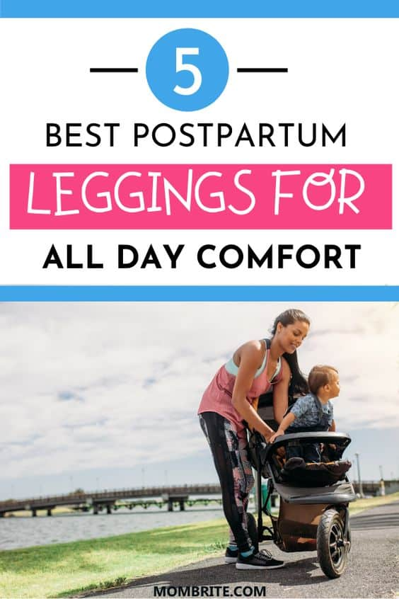 5 Best Postpartum Leggings For All Day Comfort Pin