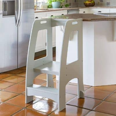 Guidecraft-Kitchen-Helper-Tower-Step-Up-Gray