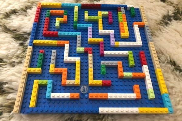 LEGO-Marble-Maze