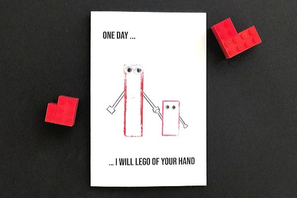 LEGO Mothers Day Card 7