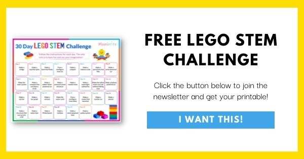 LEGO STEM Challenge Email List Opt-In