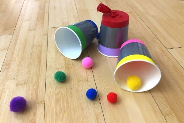 Pom Pom Shooter Cups Featured Image