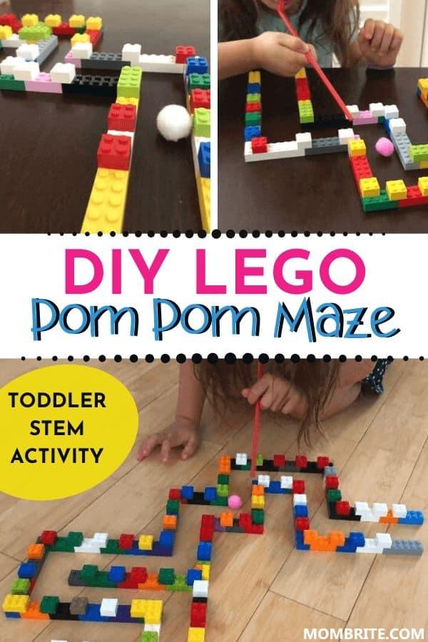 DIY-LEGO-Pom-Pom-Maze-Pin