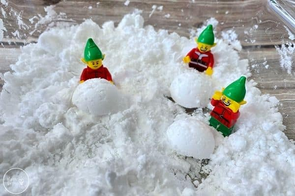 Fake Snow Snowballs