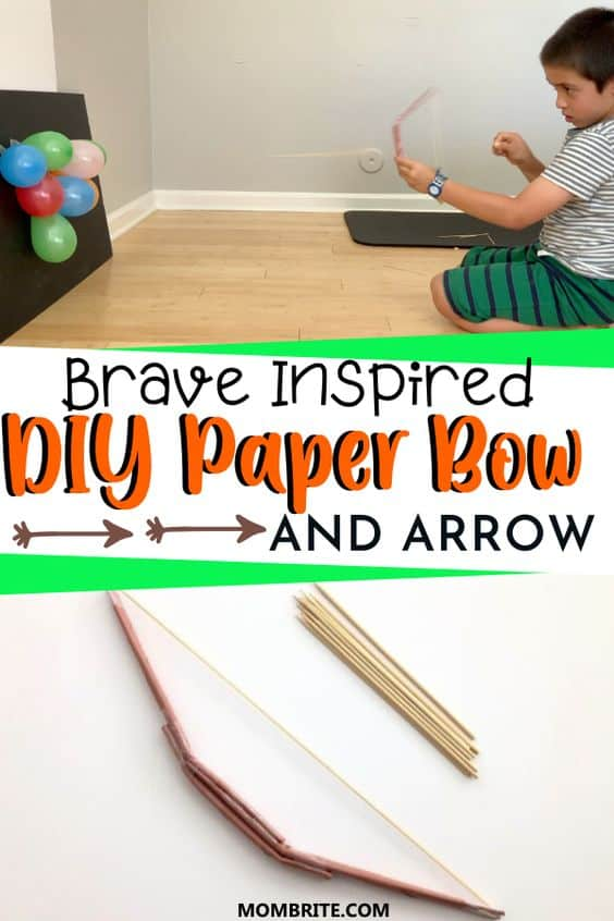 How to Make a Paper Bow and Arrow Pin