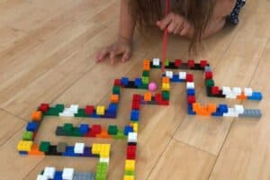 LEGO Maze Blow Pink Pom Pom Floor