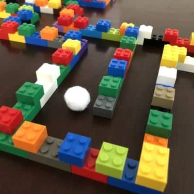 LEGO-Pom-Pom-Maze-on-Table-Closeup-2