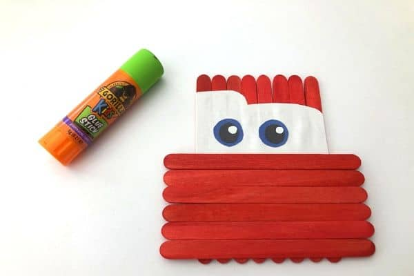 Lightning McQueen Craft Eyes