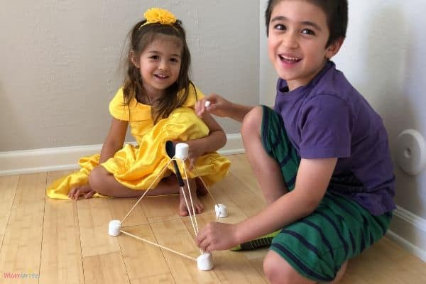 Marshmallow Catapult Happy Kids