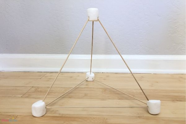 Marshmallow Catapult Pyramid