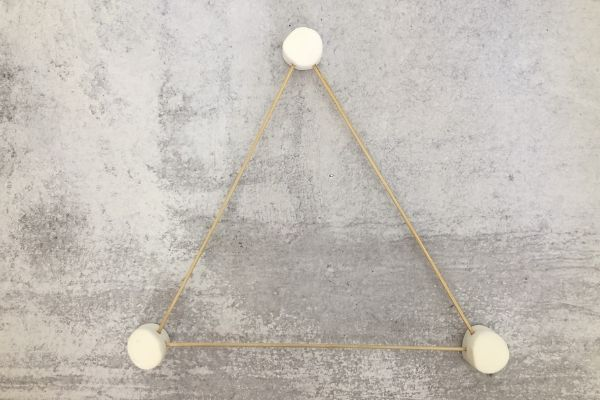 Marshmallow Catapult Triangle Base