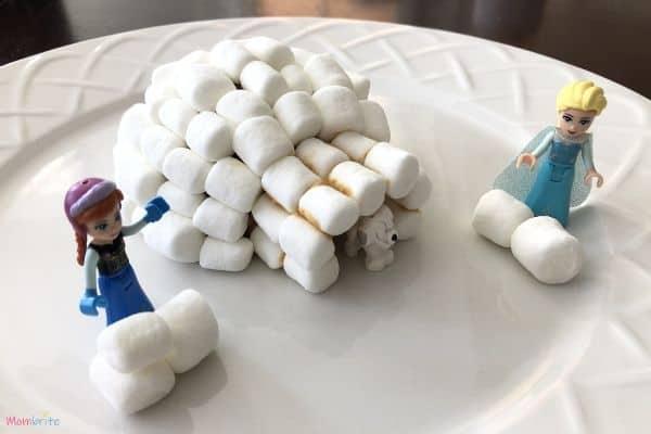 Marshmallow Igloo Snowball Fight
