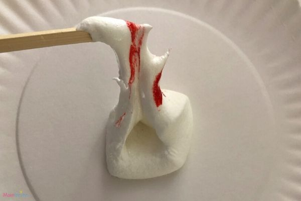 Microwave Marshmallow Experiment 10 Seconds Melted