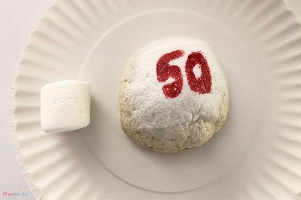 Microwave Marshmallow Experiment 50 Seconds