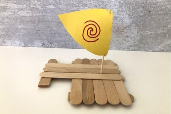 Moana-Craft-Stick-Boat-2-Hulls
