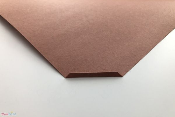 Paper Bow and Arrow Fold Construction Paper