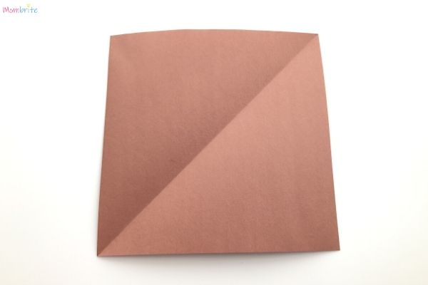 Paper Bow and Arrow Square Construction Paper