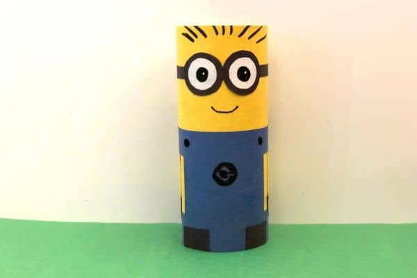 Toilet Paper Roll Minion Craft