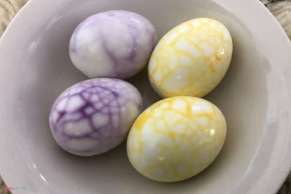 Colorful Dinosaur Eggs in Bowl