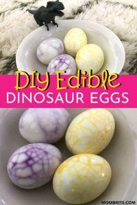 DIY Edible Dinosaur Eggs