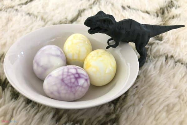 Dinosaur Eggs in Bowl
