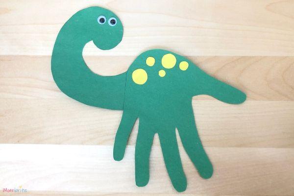 Dinosaur Handprint Craft