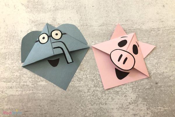 Elephant & Piggie Corner Bookmarks