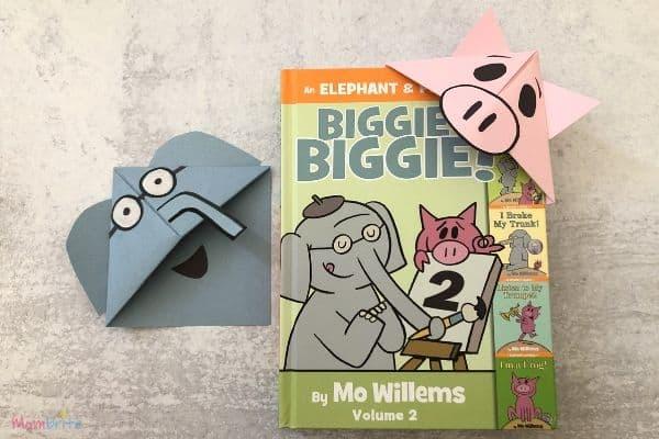 Elephant & Piggie Paper Corner Bookmarks